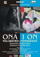 Wernisaż wystawy malarstwa K. Kulbovskiej i fotografii D. Hankiewicza image