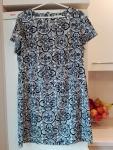 Szara sukienka, rozmiar 16