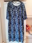 Granatowa sukienka, rozmiar L