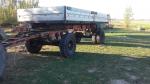 Przyczepa rolnicza, bliźniaki, aluminiowe burty