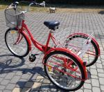 Sprzedam rower trzyko�owy 24cale