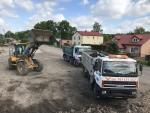 Us�ugi sprz�tem budowlanym - Transport