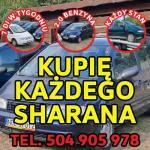 Skup VW Sharan, Kupi� Każdego Sharana 2.0 Benzyna / Kupi� Toyote,Kaczka,Atos,VW Golf 1.8