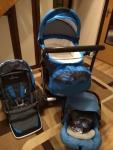 Wózek 3w1 baby design Lupo