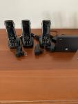 Telefon bezprzewodowy DECT (linia analogowa + IP)