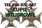 Kupi� wojskowe stare odznaczenia,odznaki,medale,ordery