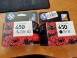 Tusz HP 650 czarny + kolor