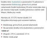 Dzia�ka Budowlana Bia�obrzegi