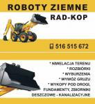 Usługi Koparko Ładowarko,Roboty Ziemne