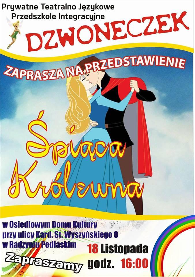 Plakat promujący przedstawienie